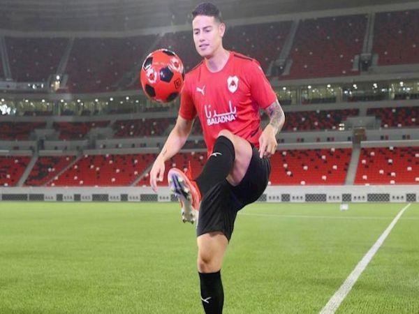 Bóng đá Quốc tế 24/9: James Rodriguez có thể sang PSG thi đấu