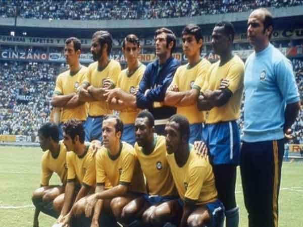 Đội tuyển Brazil – Đội hình mạnh nhất thế giới năm 1970